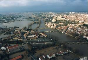 Béziers inondé